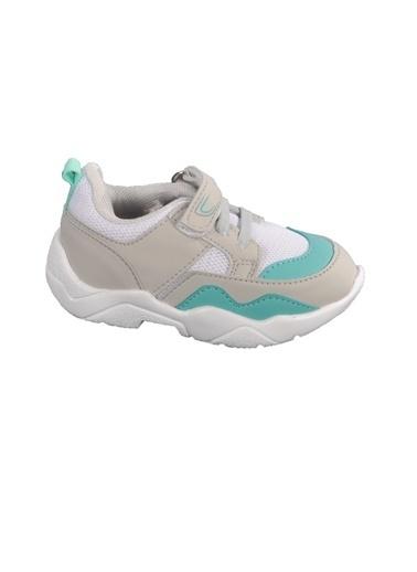 Cool 20-S19 Saks-Füme Çocuk Spor Ayakkabı Beyaz